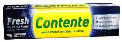 CONTENTE GEL DENTAL FRESH EXTRA FORTE 70g