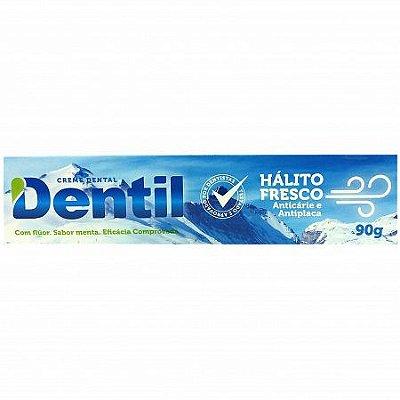 DENTIL CREME DENTAL HÁLITO FRESCO 90g