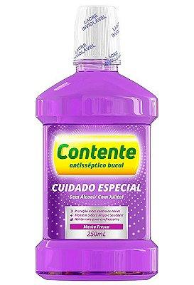 CONTENTE ANTISSÉPTICO BUCAL CUIDADO ESPECIAL MENTA FRESCA 250ML