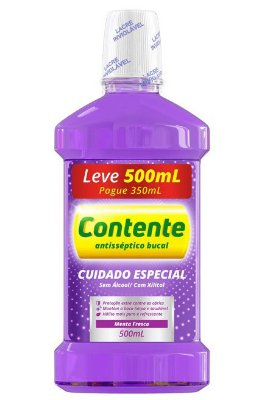 CONTENTE ANTISSÉPTICO BUCAL CUIDADO ESPECIAL MENTA FRESCA 500ML