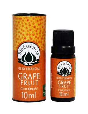 BIOESSÊNCIA ÓLEO ESSENCIAL DE GRAPE FRUIT 10ml