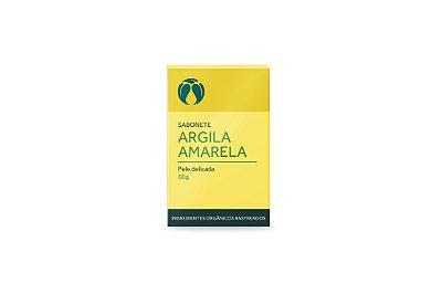 CATIVA SABONETE DE ARGILA AMARELA PARA PELE DELICADA 60g