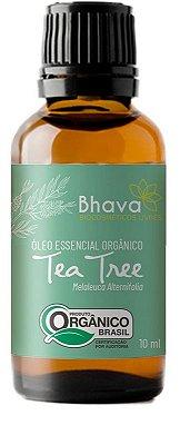 BHAVA ÓLEO ESSENCIAL DE TEA TREE ORGÂNICO 10ml