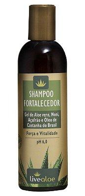 LIVEALOE SHAMPOO FORTALECEDOR ANTIQUEDA/ANTICASPA 240ml