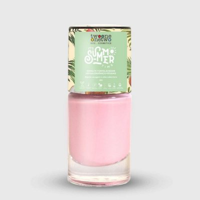 TWO ONE ONE TWO ESMALTE IT´S SUMMER TIME HIPOALERGÊNICO PRIMROSE PINK 10ml