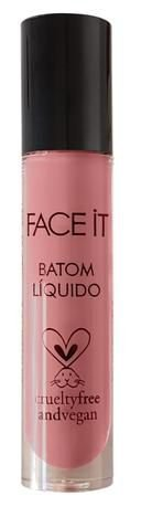 FACE IT BATOM LÍQUIDO LOVELY - ROSA QUARTZ (renda revertida para Mercy for Animals)