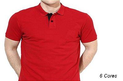 Camiseta Gola Polo Modelo 3 Masculina Manga Curta