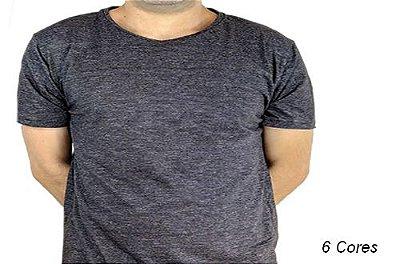 Camiseta Gola Básica Masculina Twices & Reverses Manga Curta
