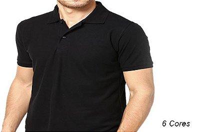 Camiseta Gola Polo Modelo 1 Masculina Manga Curta