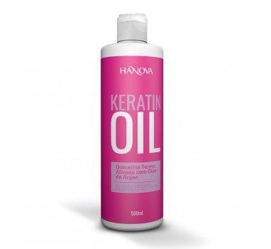 KERATIN OIL HANOVA TERMO ATIVADA 500ML