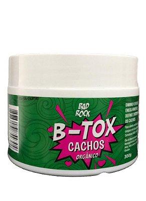 MASCARA BTOX CACHOS ORGANICOS BAD ROCK 300G