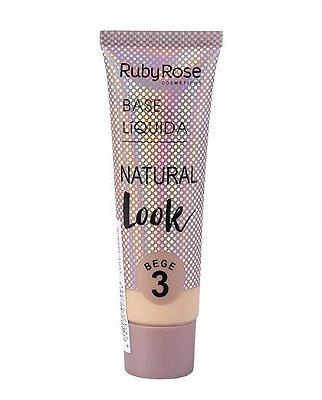 BASE RUBY ROSE NATURAL LOOK BEGE 3