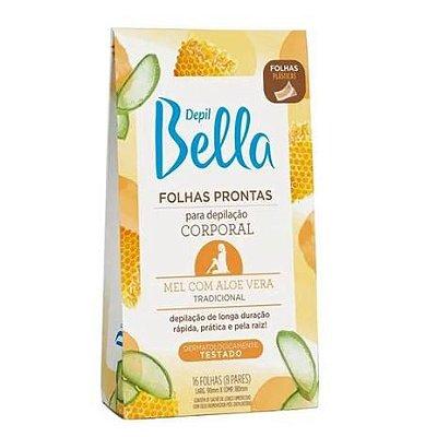 FOLHAS PRONTAS CORPORAL BELLA MEL COM ALOE VERA 16 FOLHAS