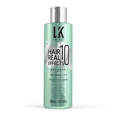 SHAMPOOL HAIR REAL 10 EFFECTS 300ML- LOKENZZI
