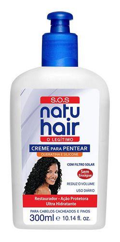 CREME PARA PENTEAR RESTAURADOR SOS- NATU HAIR