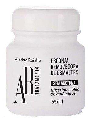 REMOVEDOR DE ESMALTE ESPONJA ABELHA RAINHA