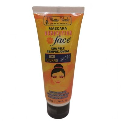 MÁSCARA FACIAL RENOVATION DIURNO MATTO VERDE 50G