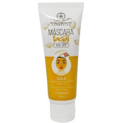 MASCARA FACIAL GOLD PHALLEBEAUTY 50G