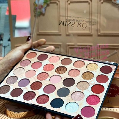 PALETA MISS RÔSE COLORFUL 35 CORES