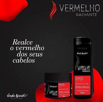 LINHA MATIZADORA VERMELHO RADIANTE- VERDE BRASIL