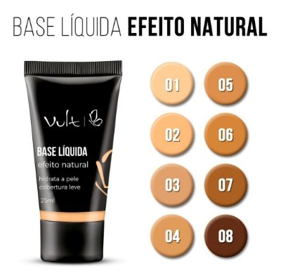 BASE LÍQUIDA EFEITO NATURAL - VULT