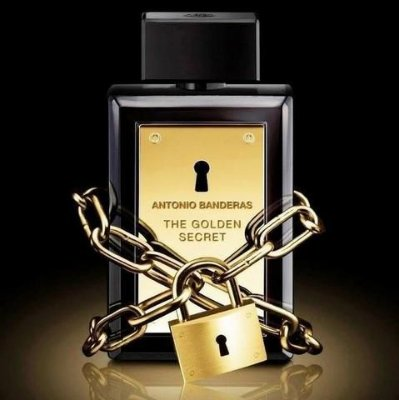 PERFUME ANTONIO BANDEIRAS THE GOLDEN SECRET