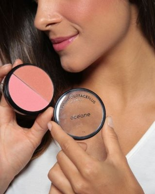 BLUSH YOUR FACEPLUS - BLUSH PINK & CLAY OCEANE
