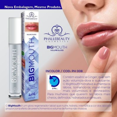 BIG MOUTH VOLUME GLOSS PHALLEBEAUTY 4ml