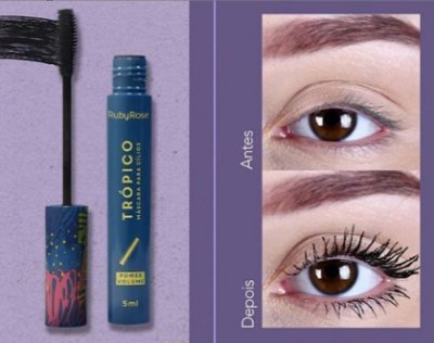 MASCARA DE CÍLIOS TROPICO VOLUME POWER RUBY ROSE