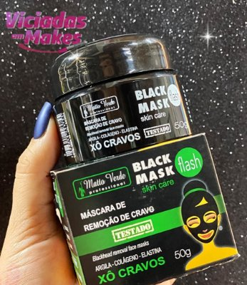 POTE BLACK MASK SKIN CARE MATTO VERDE