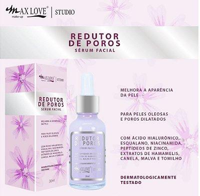 SERUM FACIAL REDUTOR DE POROS MAX LOVE