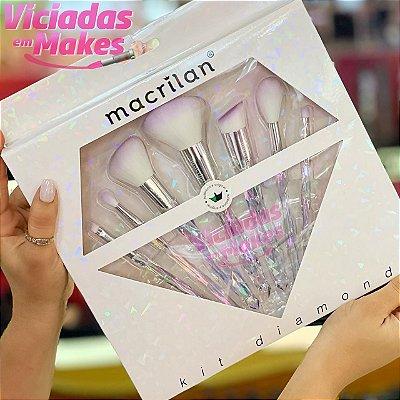 KIT DIAMOND DE PINCEIS MACRILAN