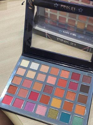 PALETA PINK 21 ROCK STAR