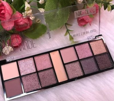 PALETA DE SOMBRAS ROSE NUDE RUBY ROSE