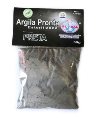 ARGILA PRETA SACHÊ 50G