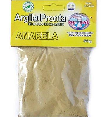 ARGILA AMARELA OURO SACHÊ 50G