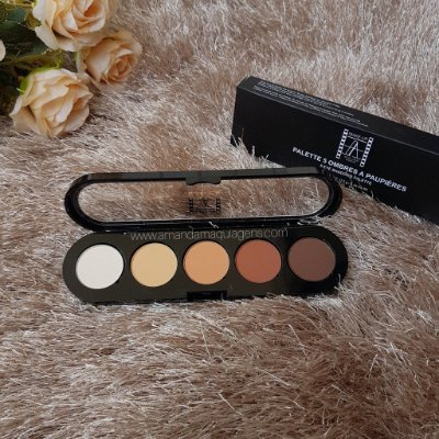 PALETA DE SOMRAS  5 EYE SHADOWS T05 ATELIER PARIS