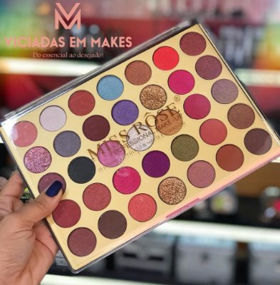 COLORFUL PALETTE 35 COLO HIGH GLOSS E MATTE EYESHADOW MISS ROSE
