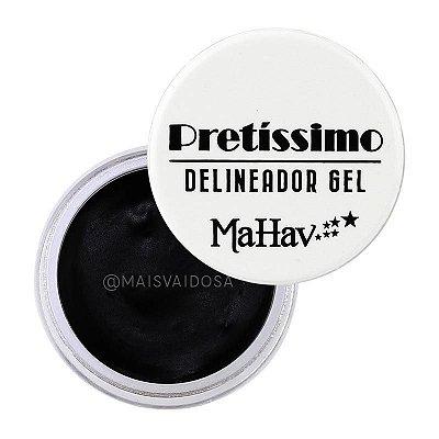 DELINEADOR EM PRETÍSSIMO GEL MAHAV