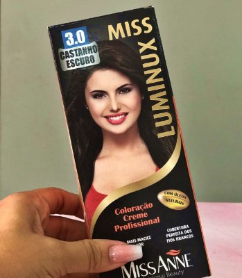 TINTURA MISS ANNE LUMINUX CASTANHO ESCURO 3.0