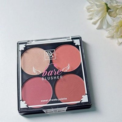 PALETA DE BLUSH RUBYKISSES BARE BLUSHER
