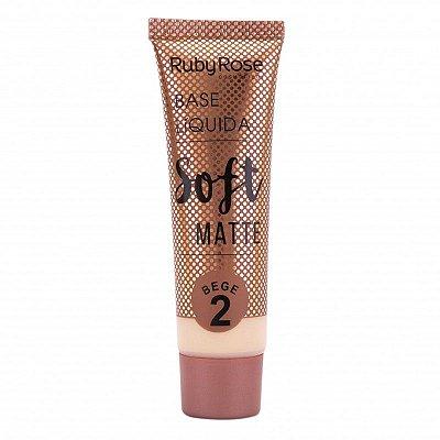 BASE SOFT MATTE RUBY ROSE BEGE 2