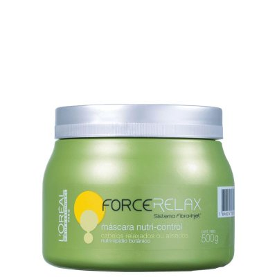 FORCE RELAX MÁSCARA NUTRI-CONTROL LOREAL PROFISSIONEL