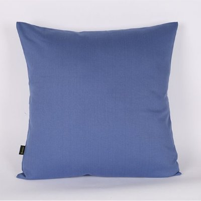 Capa de Almofada Sarja Lisa Azul- 45 x 45 cm