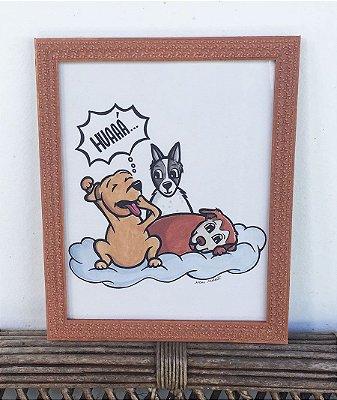 Ilustração Cães Despertar