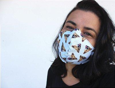 Máscara Darci Azulzin