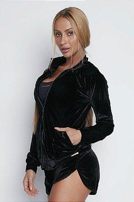 JAQUETA ELEMENTOLIV VELUDO BLACK