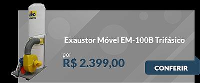 Exaustor Móvel EM-100B Trifásico