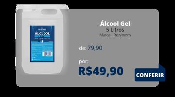 Álcool Gel 5 Litros - Rezymom