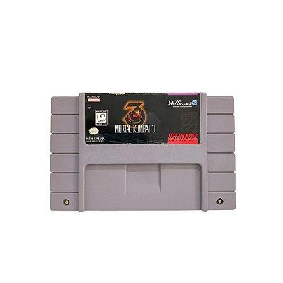 Fita Cartucho Mortal Kombat 3 Super Nintendo SNES